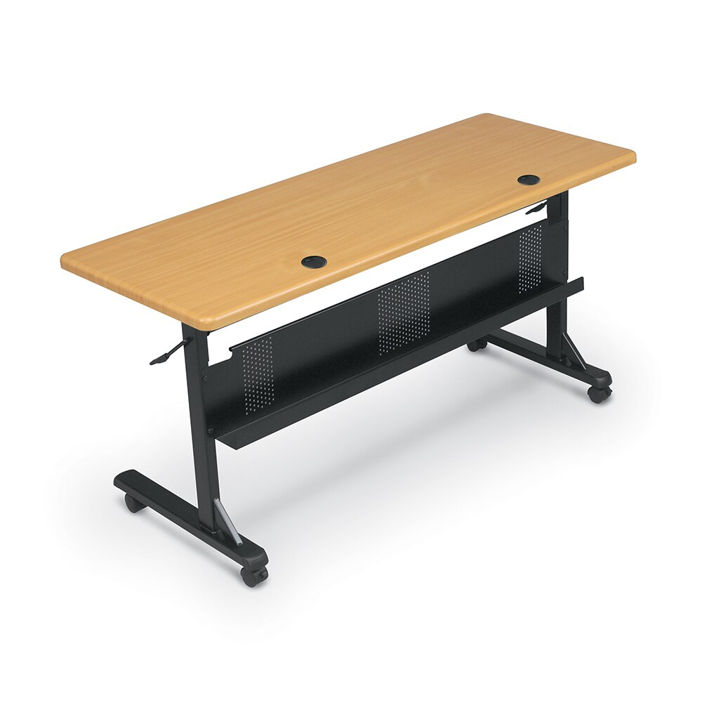 Flipper Conference and Training Tables brown